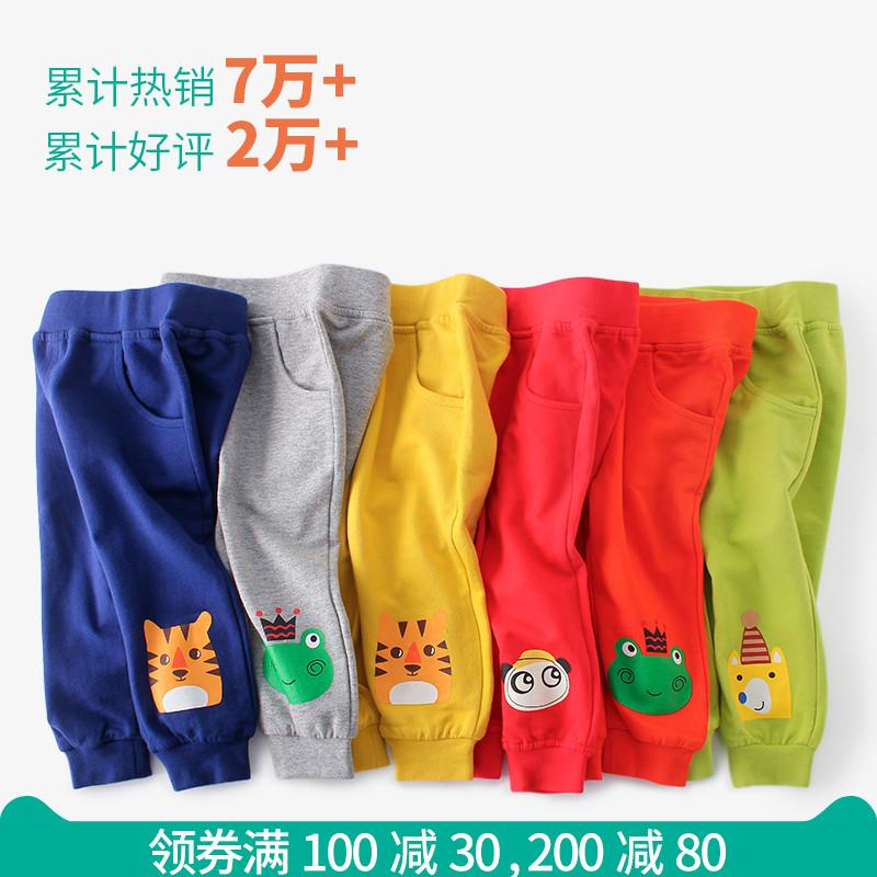 女童男童运动裤