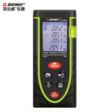 Deep Dawei lithium laser rangefinder 100 meters infrared measuring instrument measuring room meter charging electronic laser ruler