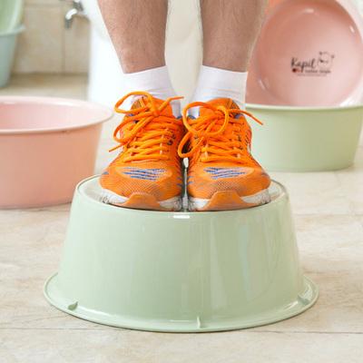 成人加厚塑料洗脸盆家用洗菜盆洗衣服小盆子婴儿脸盆洗衣盆塑料盆