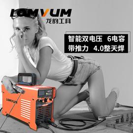 龙韵250电焊机220V家用小型380双电压两用全铜直流迷你工业级焊机图片
