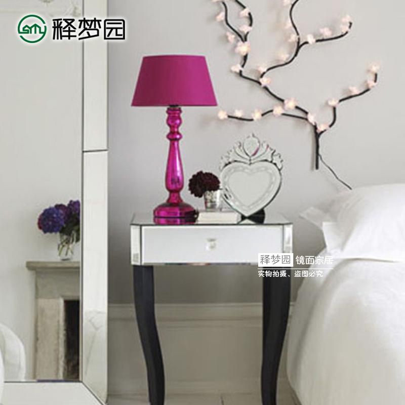 新古典白色床头柜