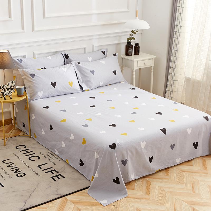 定做纯棉床单单件全棉被单1.2m1.5 3 4米1.8床笠加大炕单超大床套