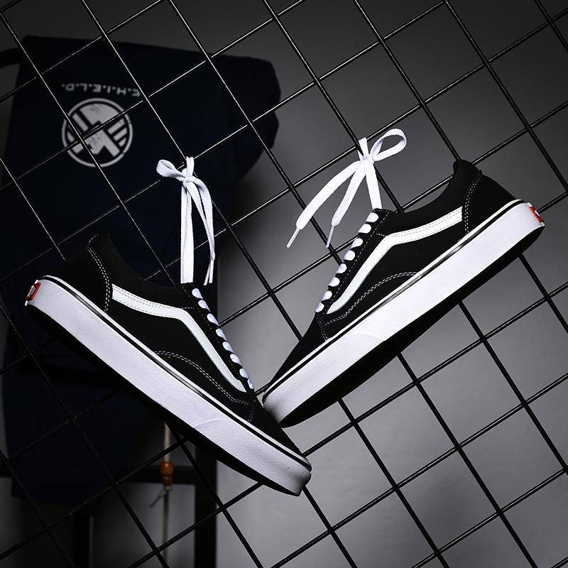 滑板鞋男鞋女鞋vansιicea万斯利亚帆布低帮款