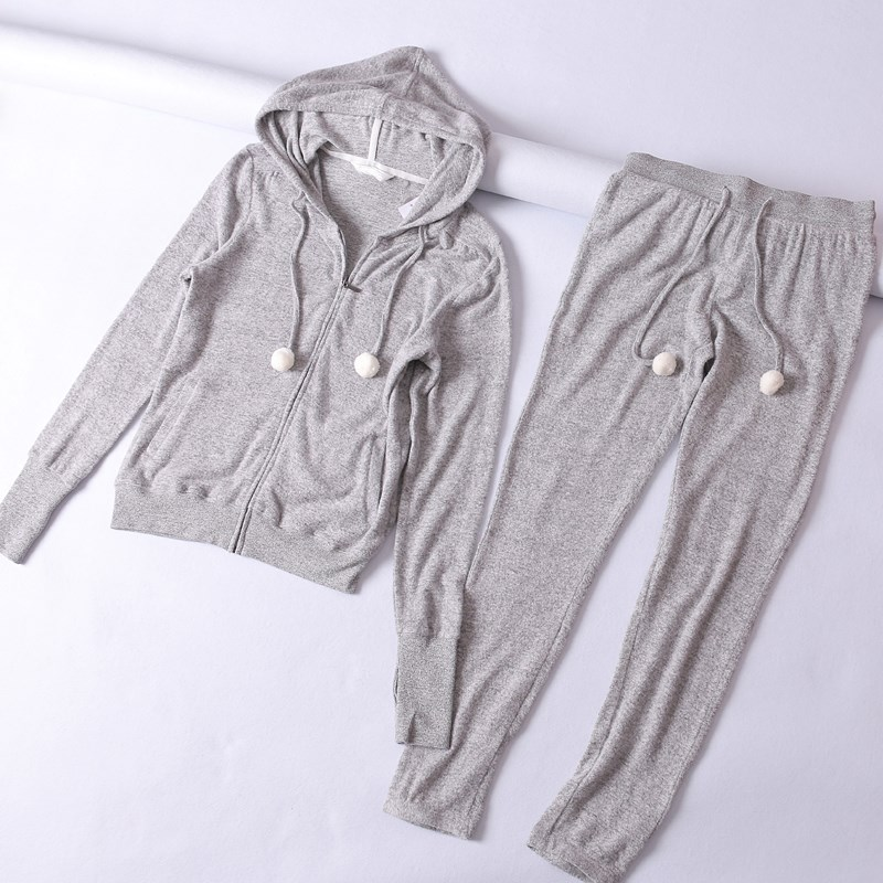卫衣+裤子 两件套 女