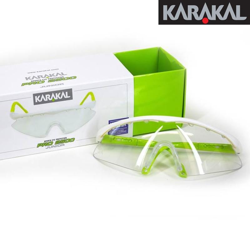 正品KARAKAL男女专业壁球护目镜防护镜小学生儿童PRO2500/3000