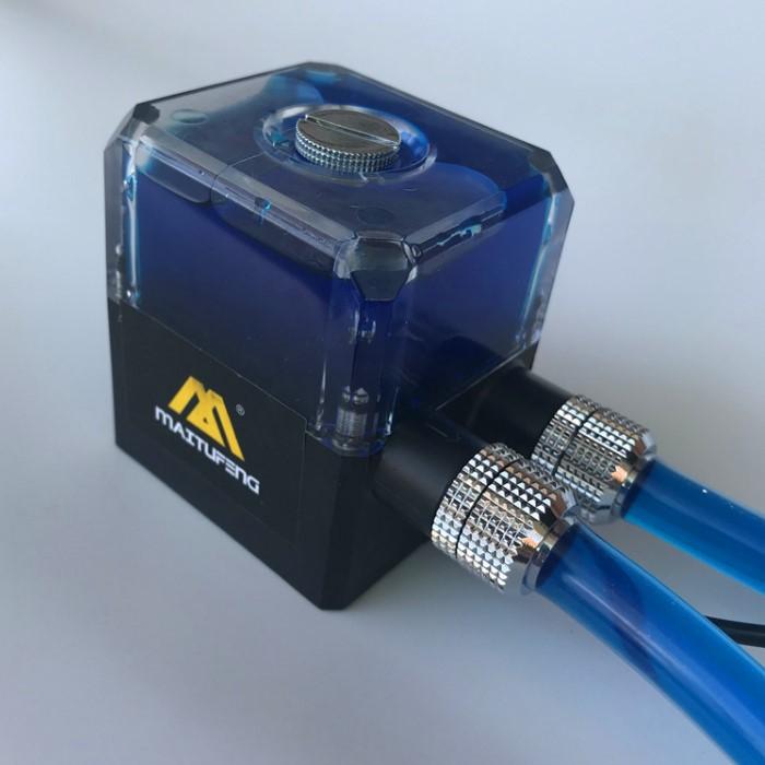 电脑水冷水泵水箱一体水冷套装散热器水泵DC 12V无刷静音陶瓷轴承