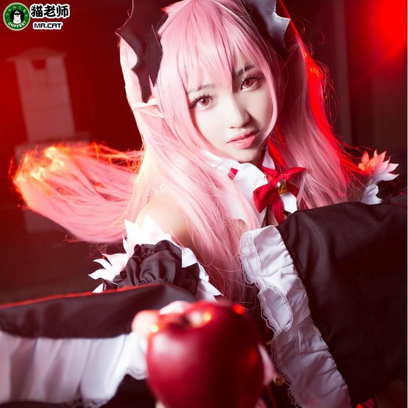 猫老师克鲁鲁COS服装女全套终结的炽天使cosplay采佩西吸血鬼女装