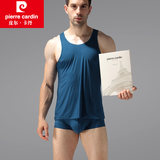 Pierre Cardin ice silk vest men's self-cultivation sports quick-drying thin summer gift box without hurdle vest