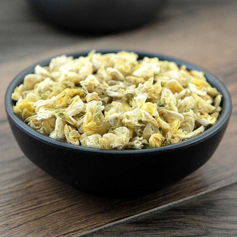 静萱筛选农家扁豆花250克无硫优质白扁豆花可磨粉另有陈皮茯苓茶