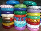 饰花盆 XGDDCR废旧轮胎创意改造工艺品彩色轮胎幼儿园装