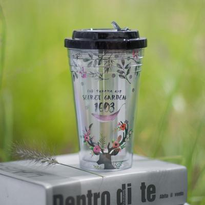 双层塑料杯