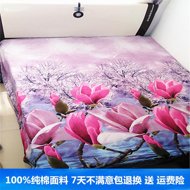 立体床单纯棉