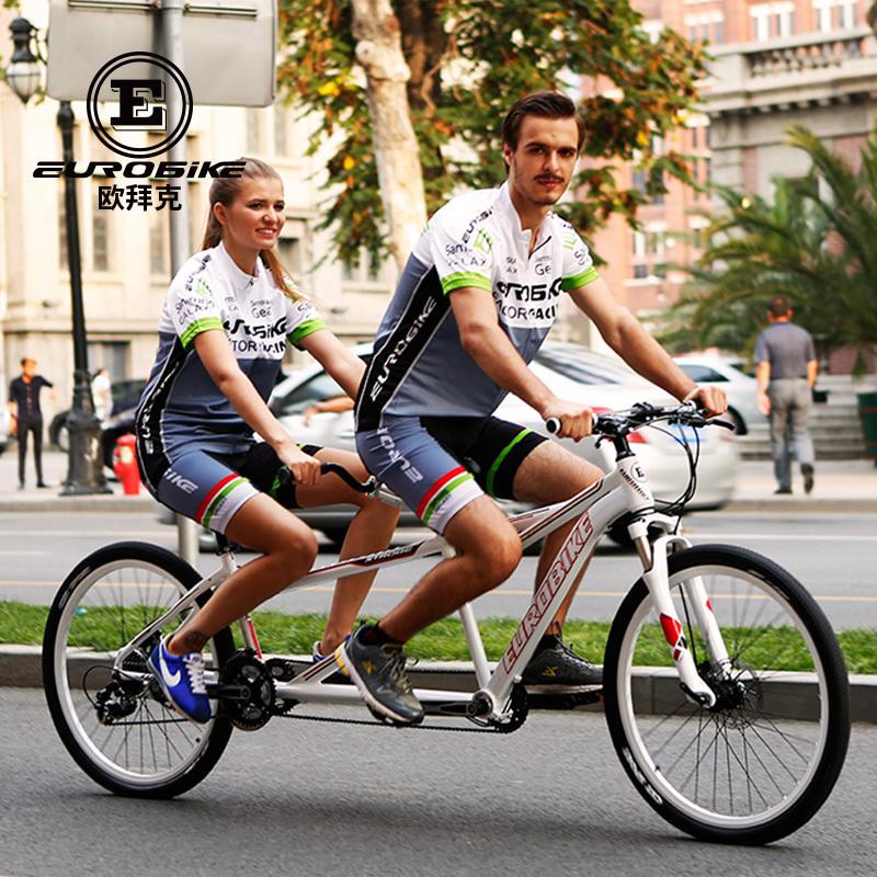 双人情侣单车