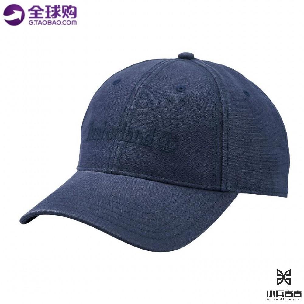 美国代购正品 Timberland/添柏岚 男士纯棉休闲经典LOGO 棒球帽