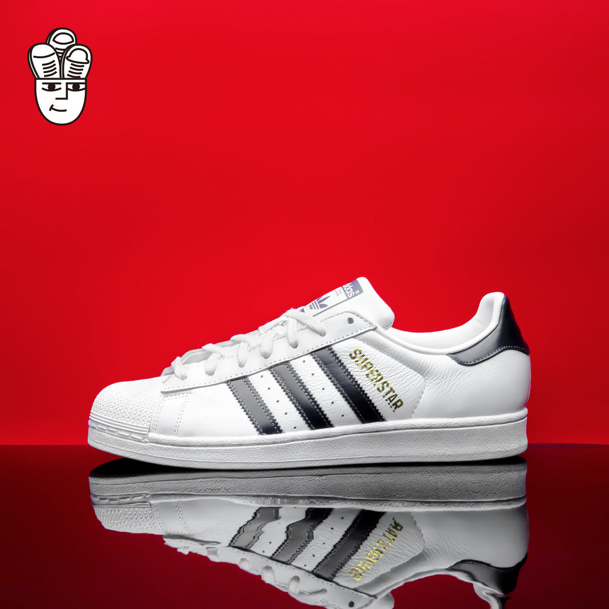 Adidas Superstar 阿迪达斯 男子 贝壳头板鞋 运动休闲鞋