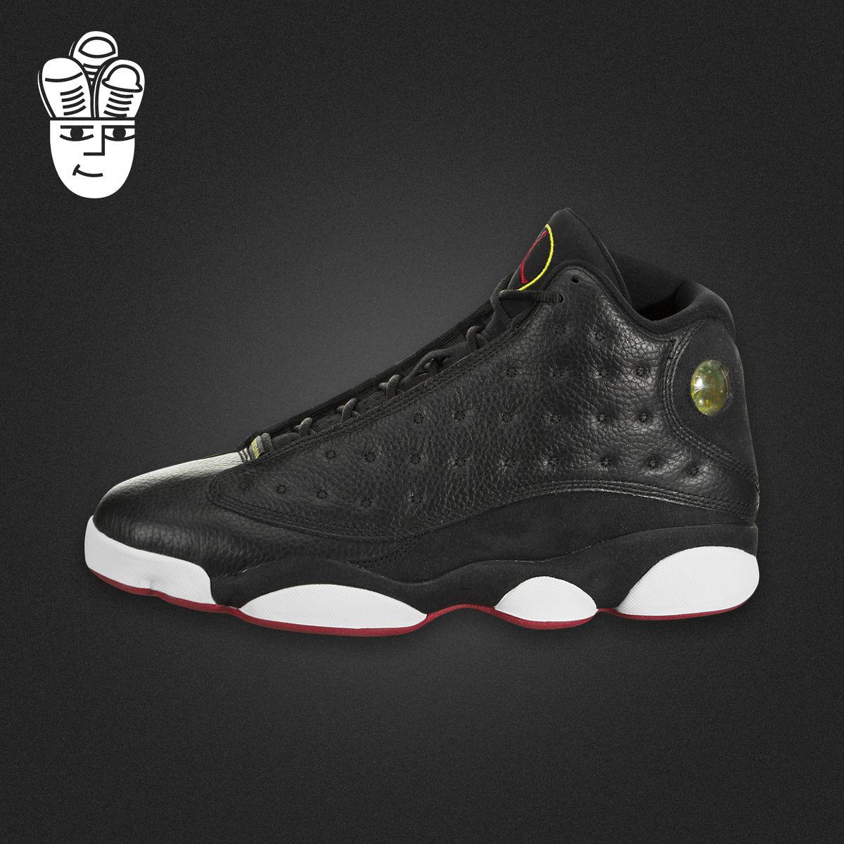Air Jordan 13  AJ13 灰红限量男子高帮篮球鞋 休闲鞋414571-126
