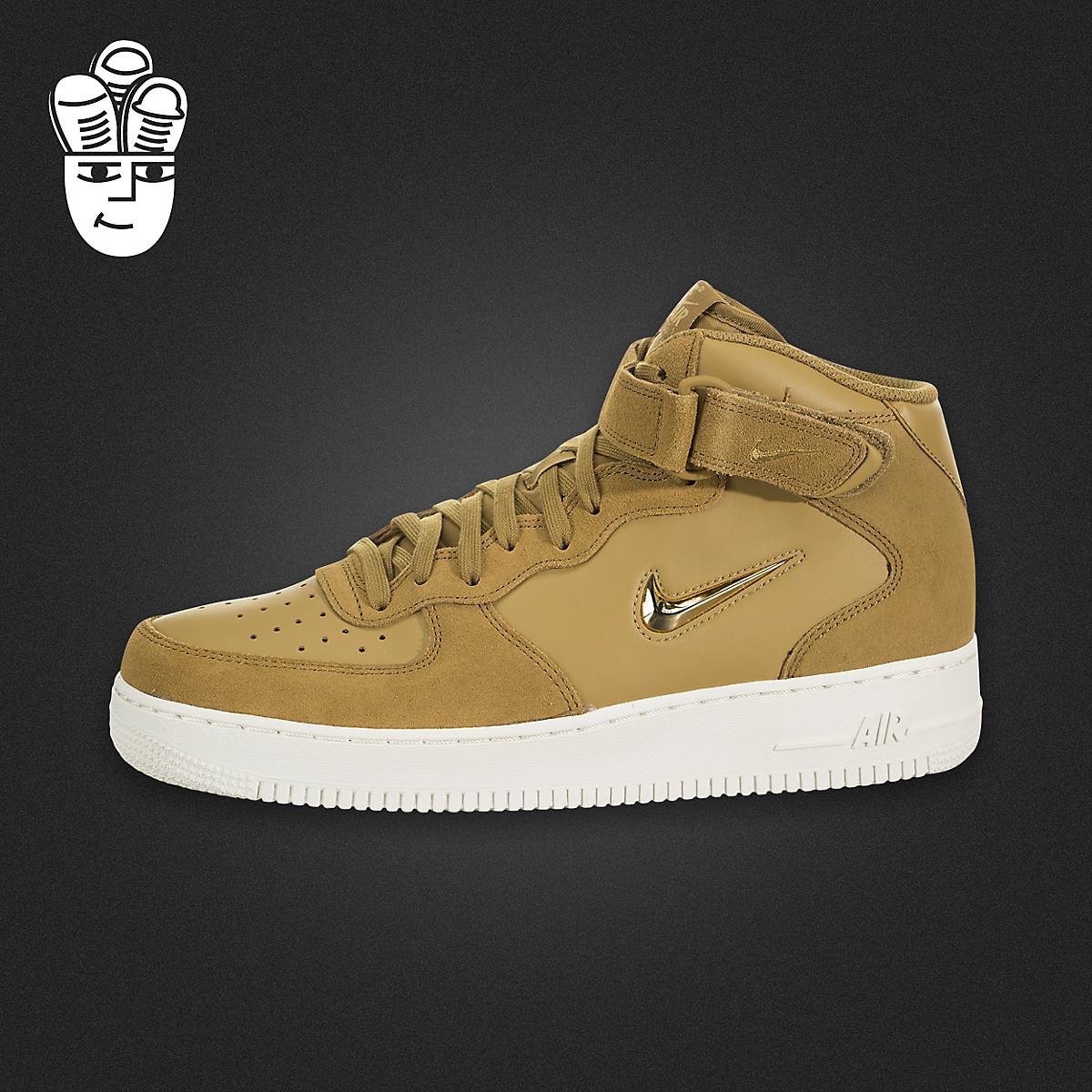 Nike Air Force 1 耐克男鞋 空军一号 中帮休闲板鞋