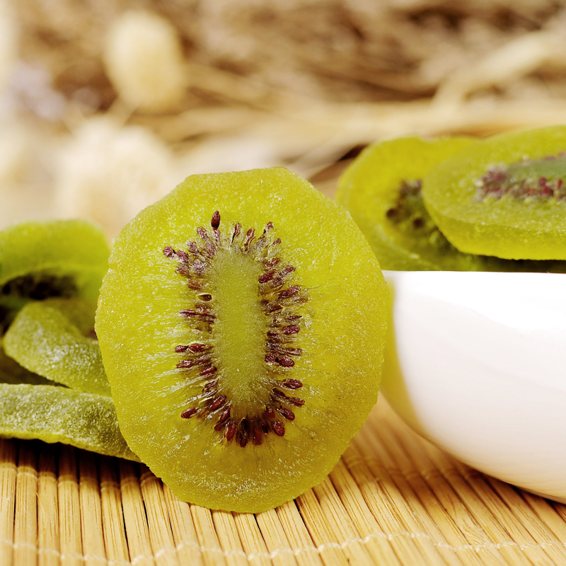 天天特价猕猴桃干500g泥猴桃干/片蜜饯零食特产奇异果满包邮