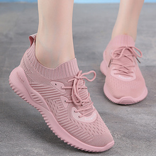 New Korean version of breathable sneakers for women running shoes in summer and autumn of 2019
