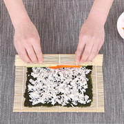 Home made sushi tool material special bamboo curtain roll making kimbap rice curtain bamboo stick curtain non-stick roller blind