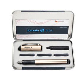 包邮德国Schneider施耐德钢笔正品BK600学生练字办公送礼铱金笔