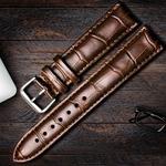 全新正品品牌皮表带采购价冲钻手表带男女牛皮表带表带针扣送工具