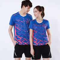 2018 World Championships Asian Games men and women models quick-drying breathable badminton clothing suit national team competition suit custom