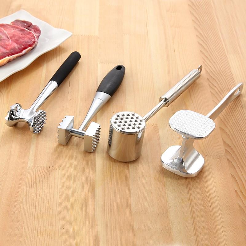 家用敲肉双面碎肉锤大排锤肉排捶砸肉锤 肉锤牛排锤合金锤 子