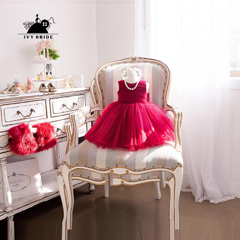 女童夏季婚纱裙
