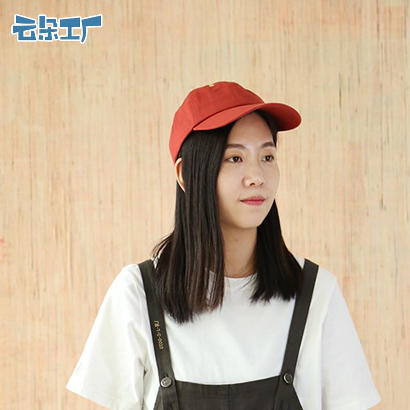 云朵工厂 轻薄棒球帽男女春夏运动休闲帽纯色鸭舌帽户外遮阳帽子
