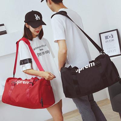 男女出差旅行手提包大容量短途旅游行李袋运动健身训练单肩斜挎包