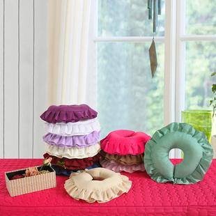 美容院趴枕脸垫头枕可拆洗圆形U型枕头按摩推拿美容床趴趴枕洞枕