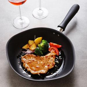 柳宗理铸铁锅日本原装进口煎锅不易粘日式家用无涂层平底锅含盖子