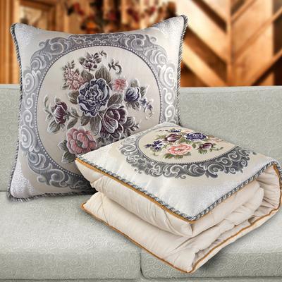 抱枕被子两用沙发纯棉欧式加厚靠枕汽车车载折叠靠垫被车内枕头被网友购买经历