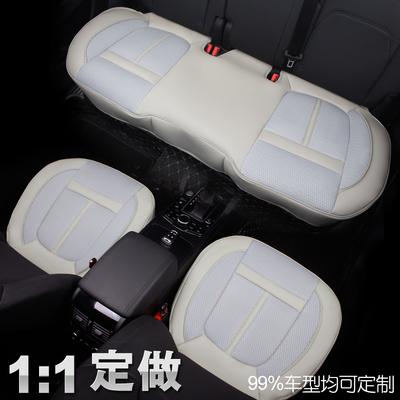 专车定制全包围无靠背汽车坐垫三件套四季通用宝马奥迪单片座垫子