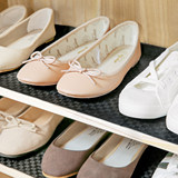 Japan imported TOWA shoe cabinet smell-absorbing mat household shoe rack bamboo charcoal deodorant pad paper drawer waterproof moisture-proof mat