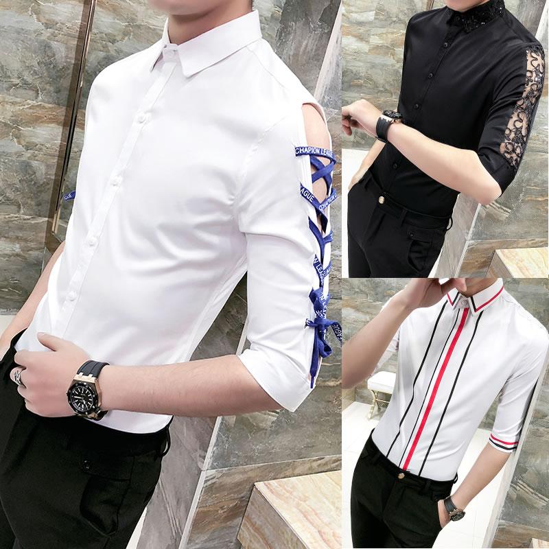 衬衫衬衣拼接