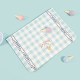 Halodtudio inner bile bag Apple Xiaomi ipad laptop bag flip-top-style plaid cute protective case