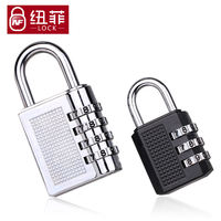 NF zinc alloy 3/4 gym locker lock door warehouse car luggage mini password lock padlock
