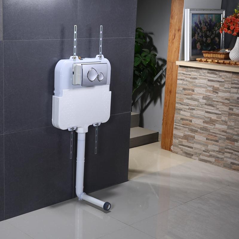 超薄隐藏式水箱蹲便器WDI入墙暗装水箱隐形埋墙嵌入蹲便挂便水箱