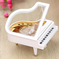 Sky City Piano Music Box Music Box Send Girlfriend Child Birthday Gift Girl Mother's Day 520 Gift