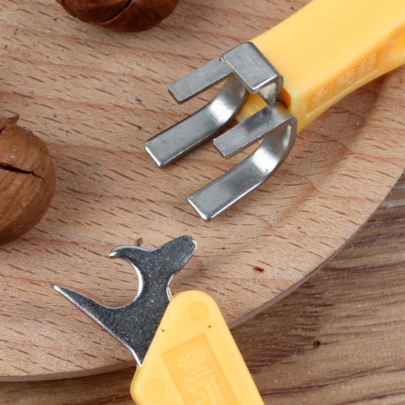 新款整粒剥 吃山核桃工具坚果炒货脱壳王不锈钢多功能去壳帮手