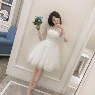 公主裙伴娘婚纱