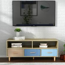 北欧简易电视柜现代简约小户型迷你客厅宜家田园风茶几电视柜组合