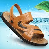 男士 子凉鞋 凉鞋 男厚底休闲两用凉拖鞋 潮防滑鞋 夏季沙滩鞋 2018新款