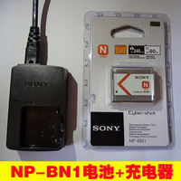 Sony DSC-W630 W570 W350 W670 WX100 TX7C Camera Battery + Charger NP-BN1