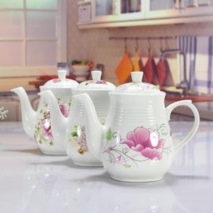 陶瓷 酱油瓶 450毫升 大号  醋瓶 油壶 家用 油瓶 厨房用品 包邮