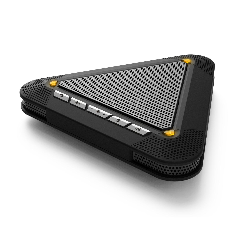 Pusenter腾为-4米收音USB视频会议全向麦克风/蓝牙无线会议麦克风回音消除