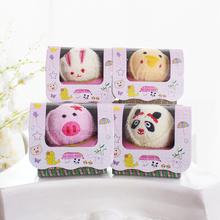 小礼物卡通动物小毛巾 回礼小礼品节日活动促销 生日派对 儿童用品