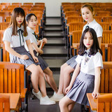 JK Uniform Skirt for Students of Fashion Korean Edition Leisure High School of Desni Shun College in Summer